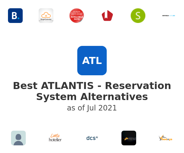 Best ATLANTIS - Reservation System Alternatives