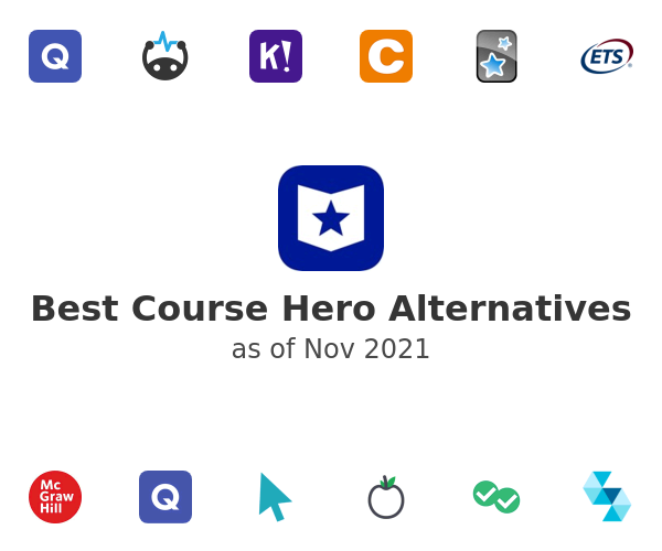 Best Course Hero Alternatives