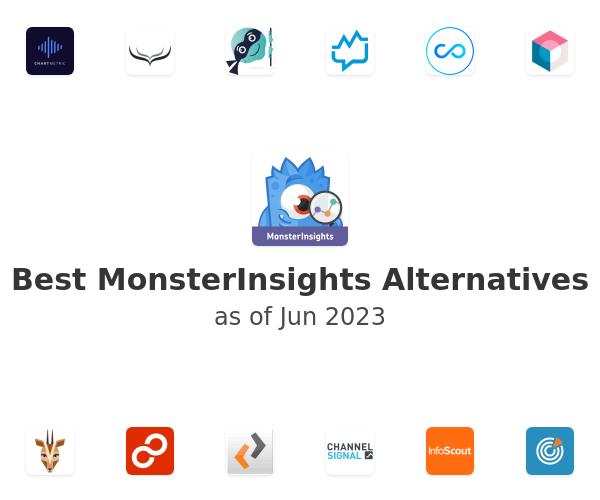 Best MonsterInsights Alternatives
