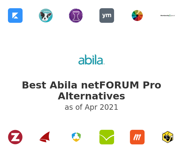 Best Abila netFORUM Pro Alternatives