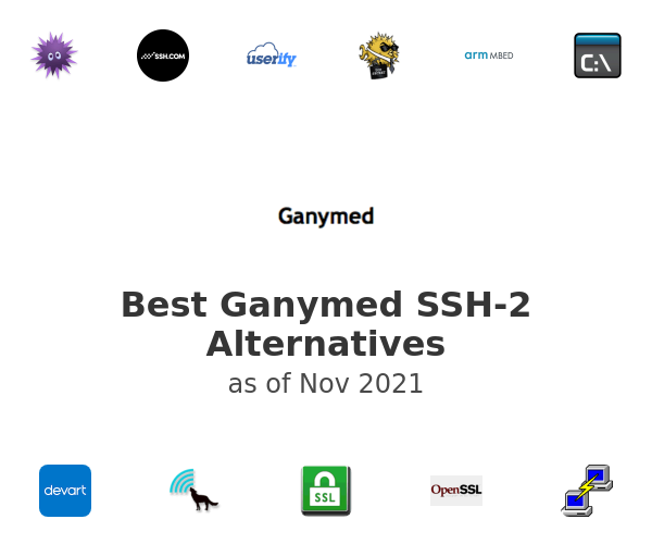 Best Ganymed SSH-2 Alternatives