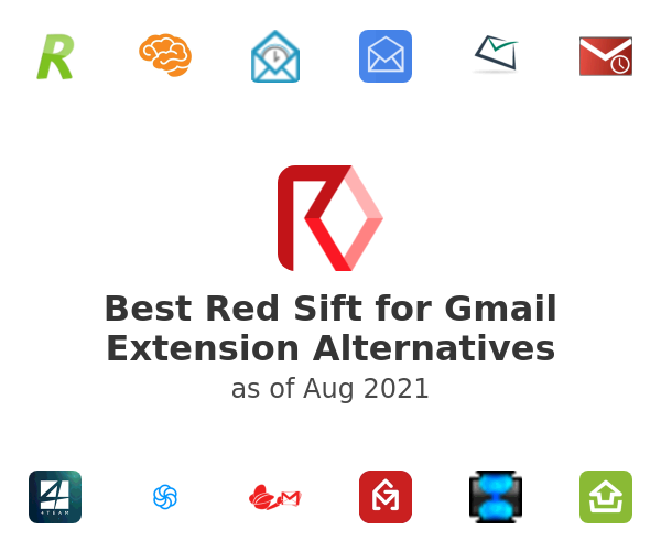 Best Red Sift for Gmail Extension Alternatives