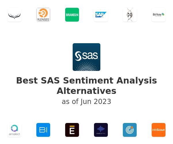 Best SAS Sentiment Analysis Alternatives