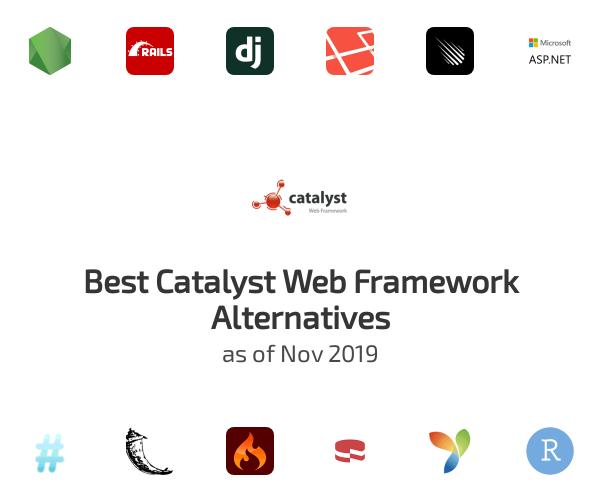 Best Catalyst Web Framework Alternatives