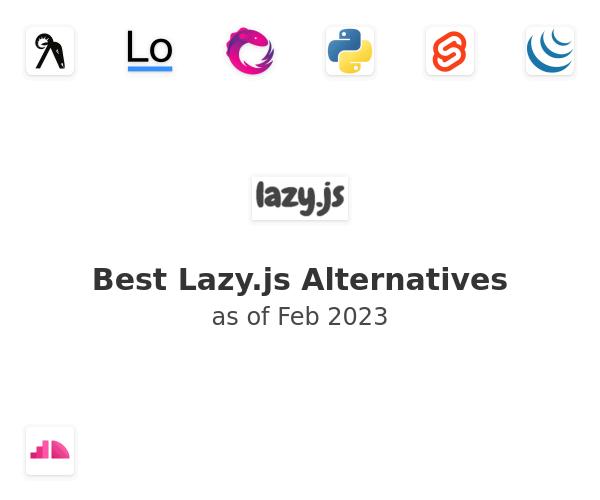Best Lazy.js Alternatives