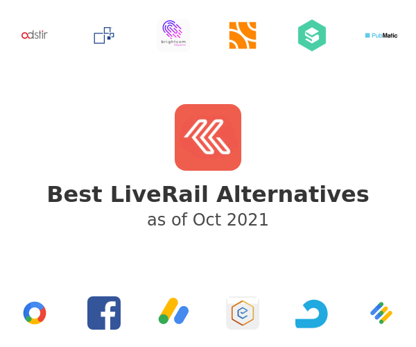 Best LiveRail Alternatives