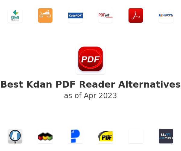 Best Kdan PDF Reader Alternatives