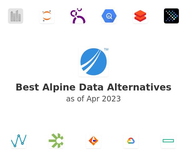 Best Alpine Data Alternatives