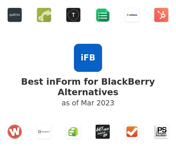 Best inForm for BlackBerry Alternatives
