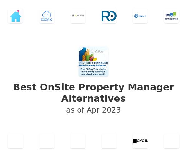 Best OnSite Property Manager Alternatives