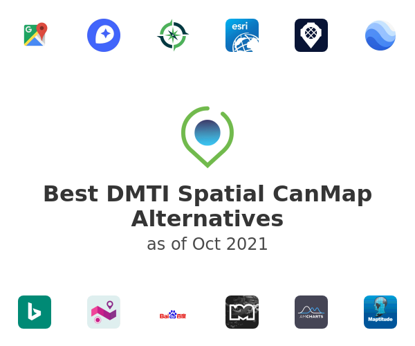 Best DMTI Spatial CanMap Alternatives
