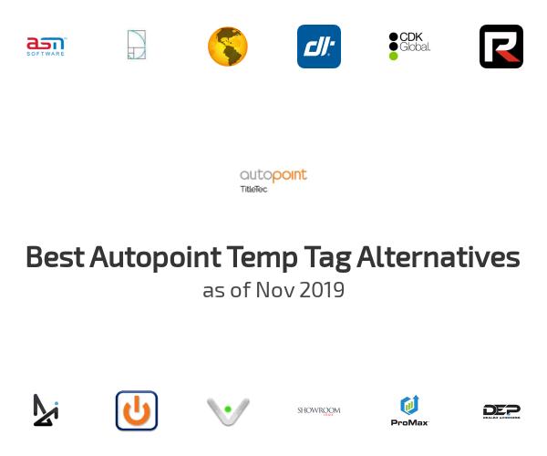 Best Autopoint Temp Tag Alternatives