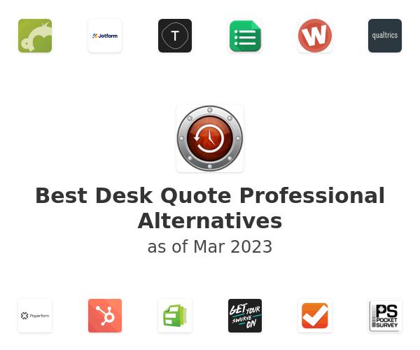 Best Desk Quote Professional Alternatives