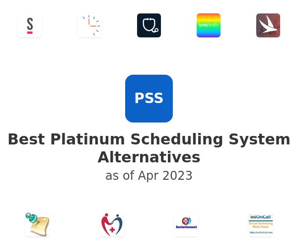 Best Platinum Scheduling System Alternatives