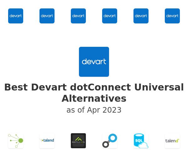 Best Devart dotConnect Universal Alternatives