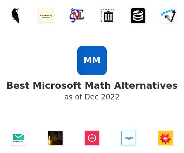 Best Microsoft Math Alternatives