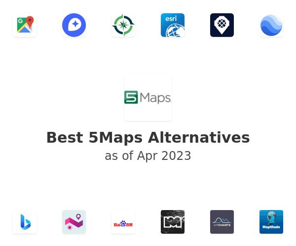 Best 5Maps Alternatives