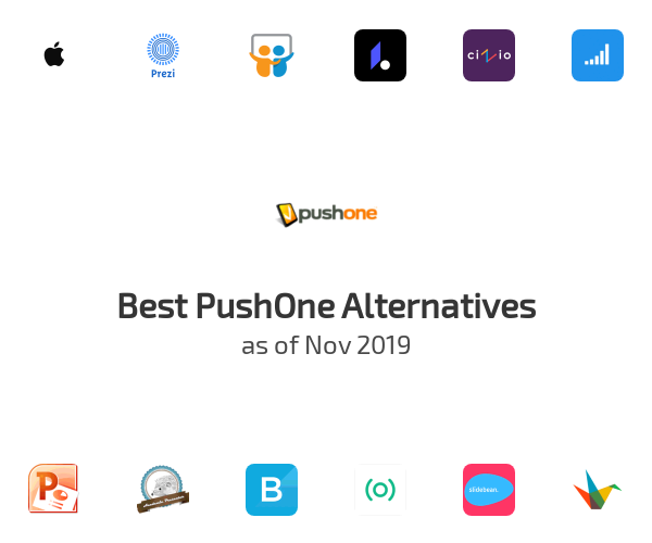 Best PushOne Alternatives
