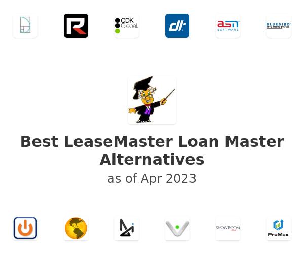 Best LeaseMaster Loan Master Alternatives