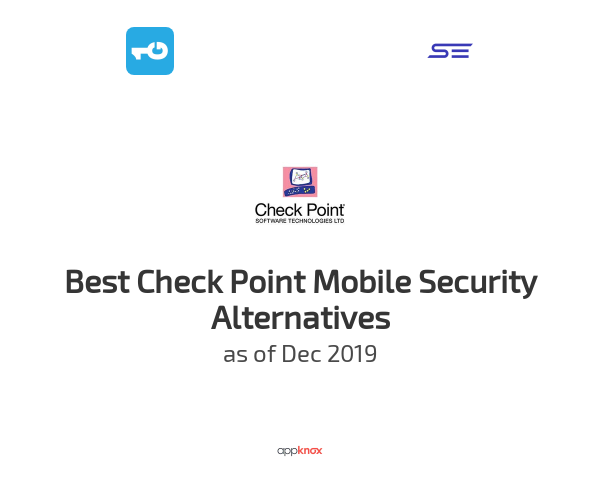 Best Check Point Mobile Security Alternatives