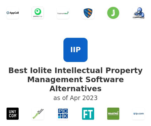 Best Iolite Intellectual Property Management Software Alternatives