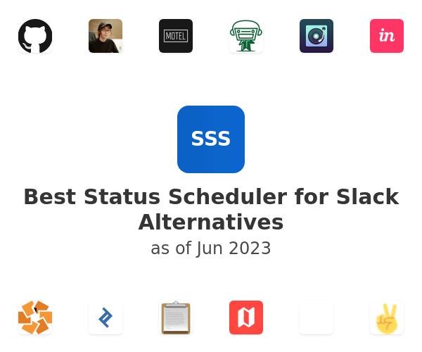 Best Status Scheduler for Slack Alternatives