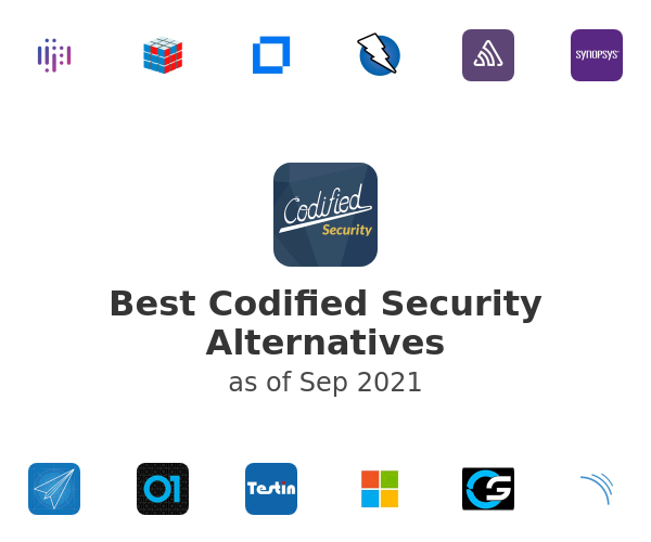 Best Codified Security Alternatives
