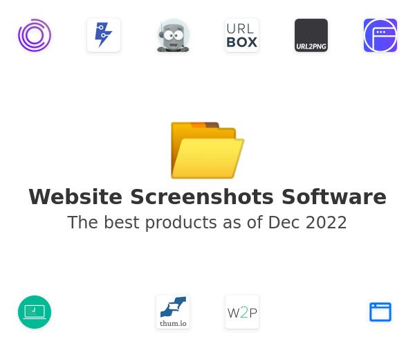Website Screenshots Software