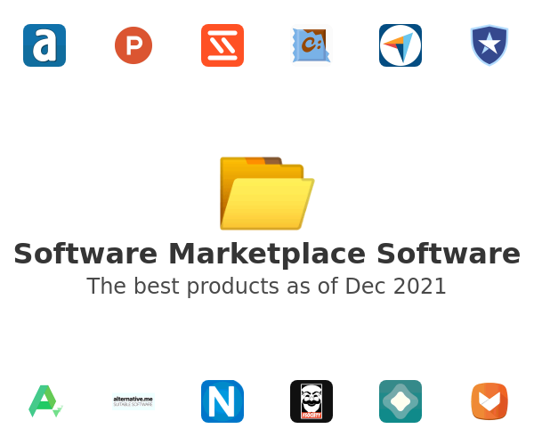 Software Marketplace Software