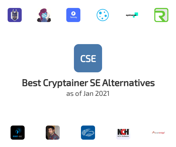 Best Cryptainer SE Alternatives