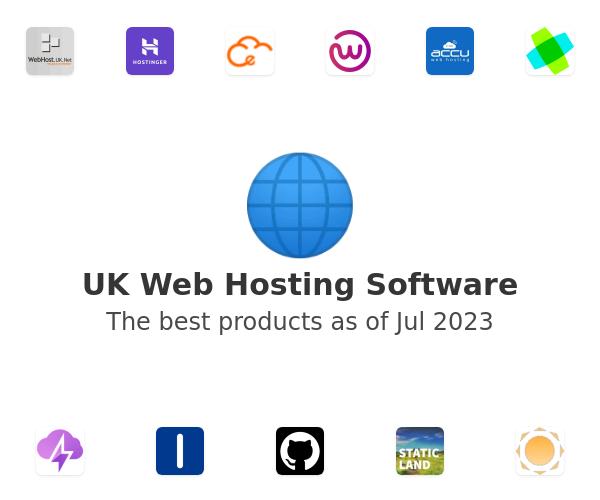 UK Web Hosting Software