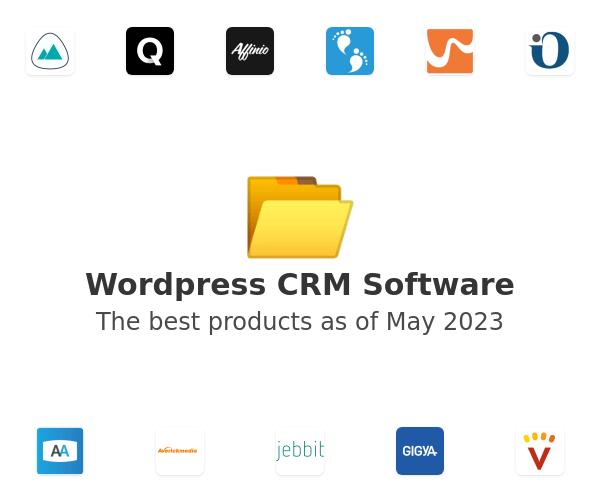 Wordpress CRM Software