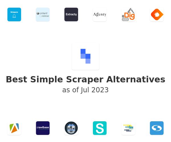 Best Simple Scraper Alternatives