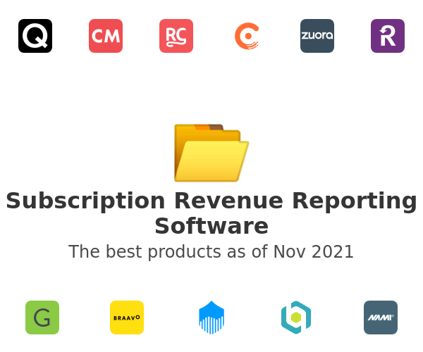 Subscription Revenue Reporting Software