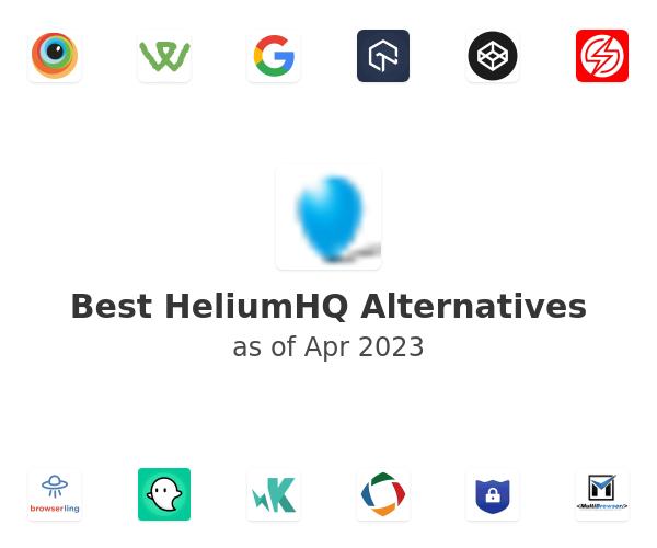 Best HeliumHQ Alternatives