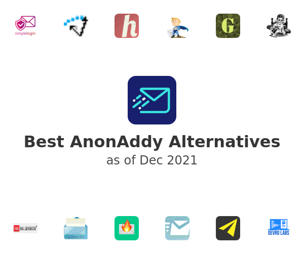 Best AnonAddy Alternatives