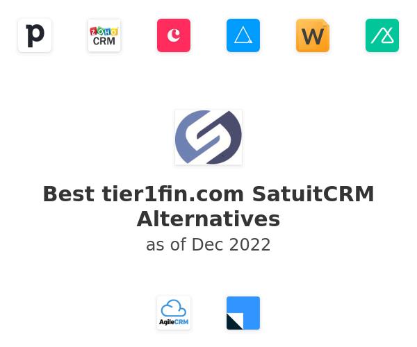 Best SatuitCRM Alternatives