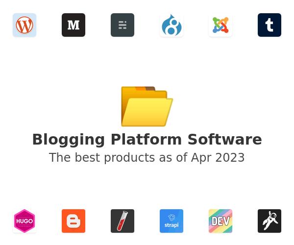 Blogging Platform Software