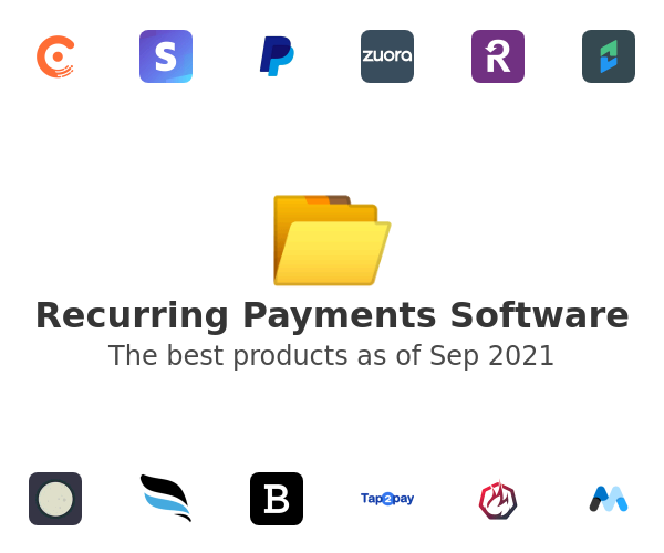 Recurring Payments Software