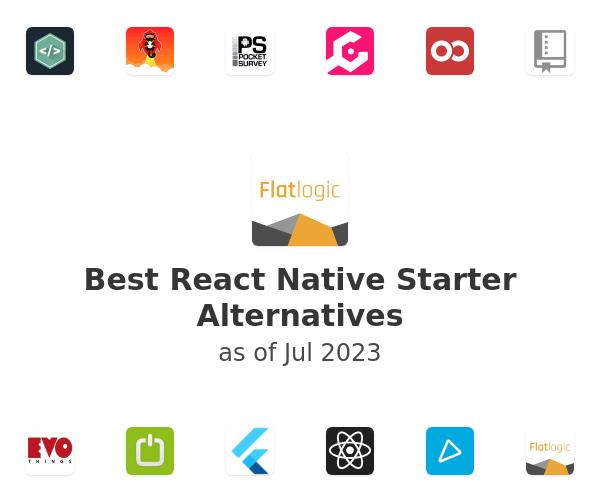 Best React Native Starter Alternatives