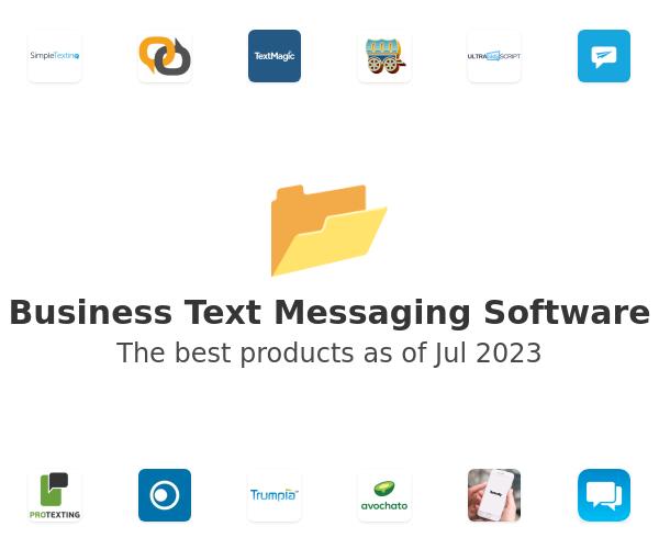 Business Text Messaging Software