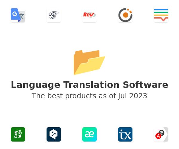 Language Translation Software