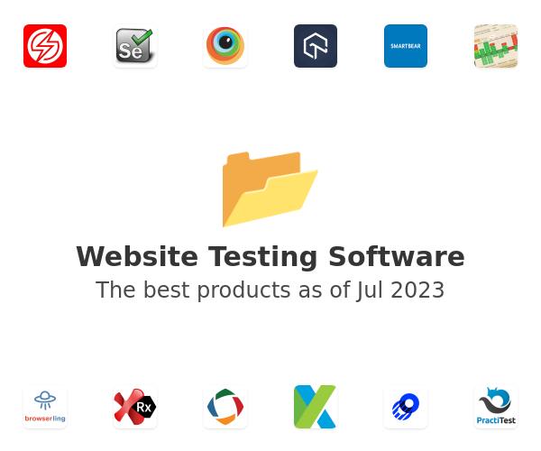 Website Testing Software