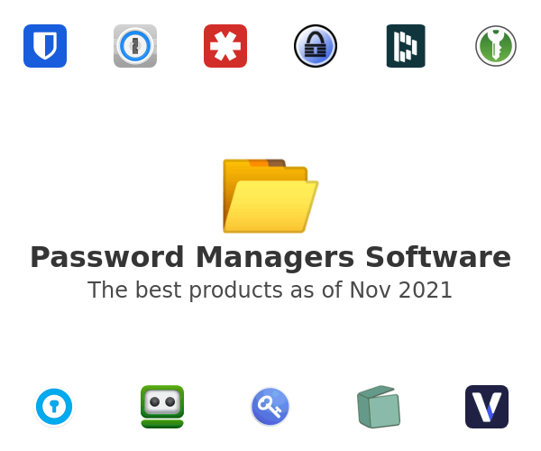 Password Managers Software