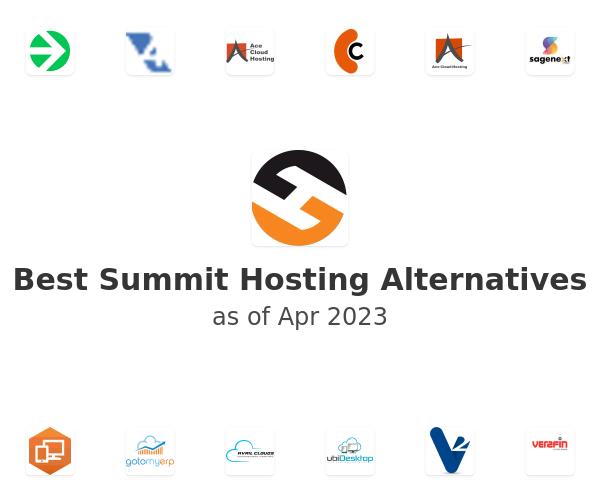 Best Summit Hosting Alternatives