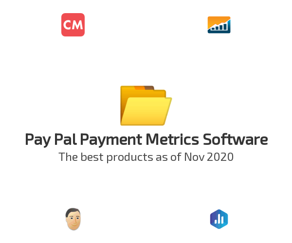 Pay Pal Payment Metrics Software