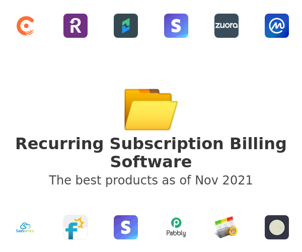 Recurring Subscription Billing Software