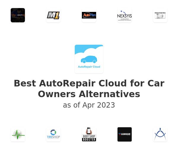 Best AutoRepair Cloud for Car Owners Alternatives