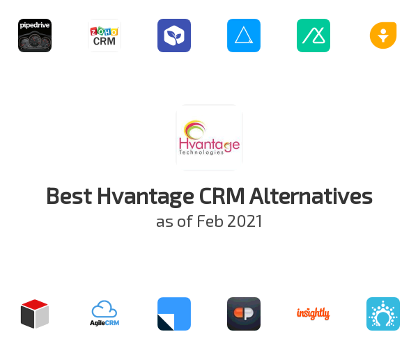 Best Hvantage CRM Alternatives
