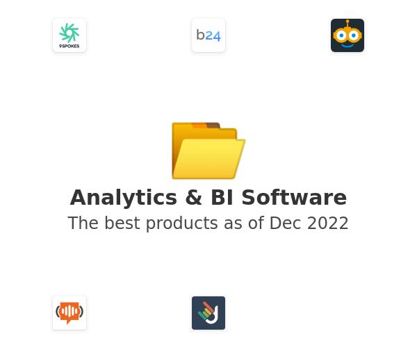 Analytics & BI Software